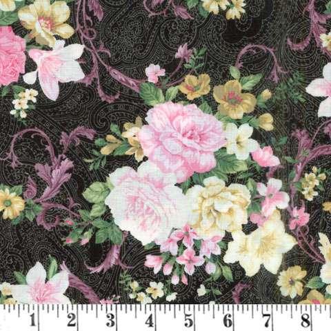 AE453 Lady Elizabeth - Vintage Floral