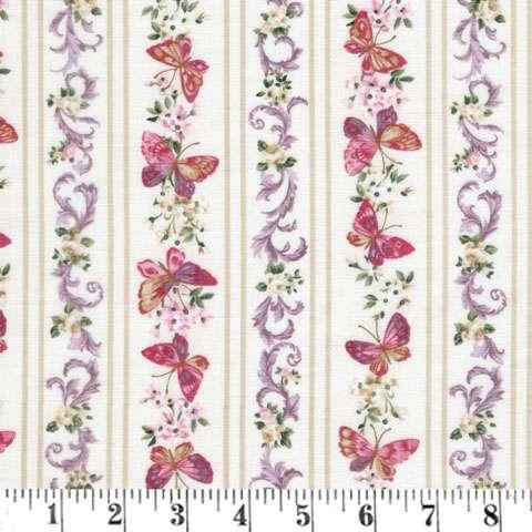 AE455 Lady Elizabeth - Butterfly Stripe