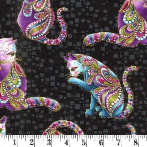 AE461 Cat-l-tude - Artisto Allover