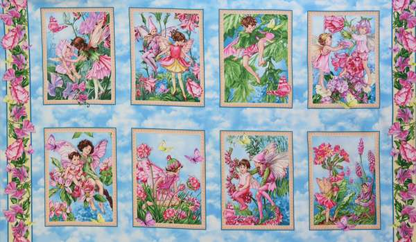 AE472 Fairy Whispers - Block Panel