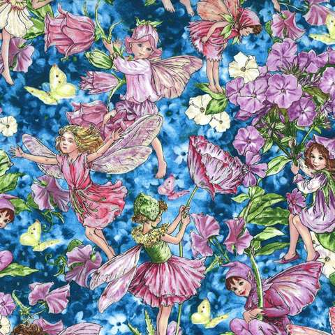 AE474 Fairy Whispers - all-over print