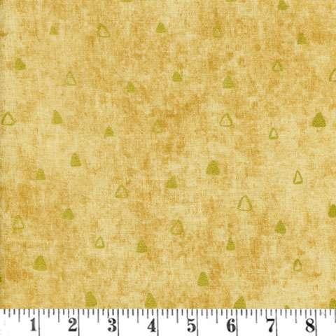 AE494 Gustav Klimt - Gold Triange
