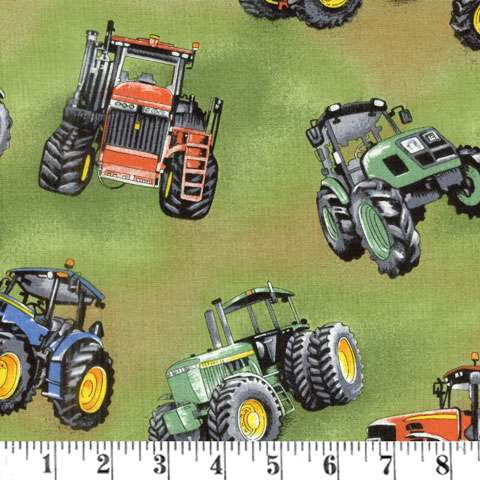 AE506 Kiwiana - Tractor Time