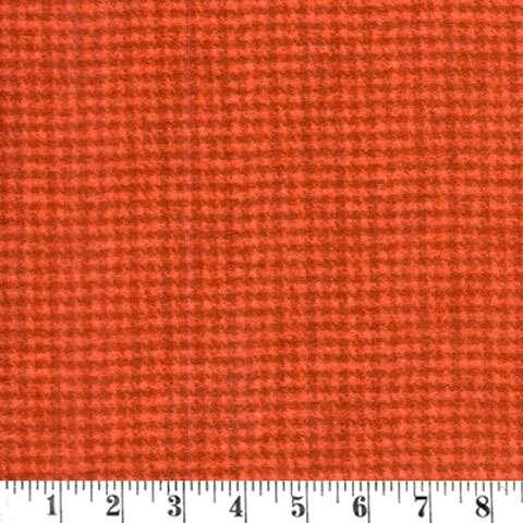 AE507 Woolies Flannel - Rust