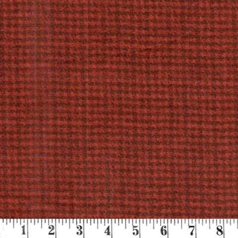 AE508 Woolies Flannel - Deep Red