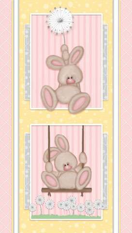 AE520 Fluffy Bunny - Flannel Panel preview
