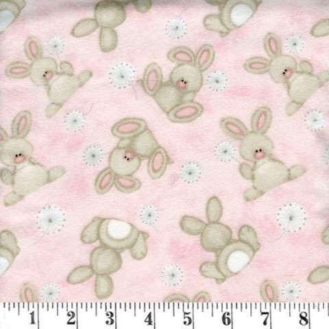 AE522 Fluffy Bunny - Flannel