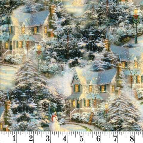 AE526 The Night Before Christmas - Digitally Printed