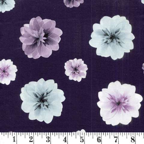 AE533 Essence of Pearl - Purple Blossoms Pearlized