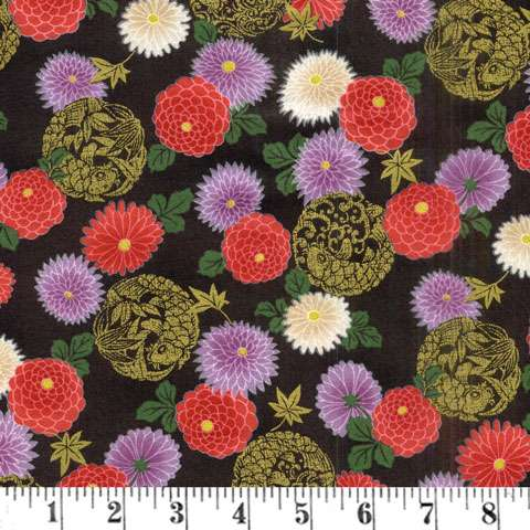 AE537 Ryoran Koi - Floral