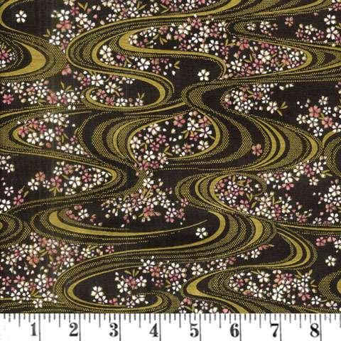 AE539 Ryoran Koi - Swirsl and Flowers