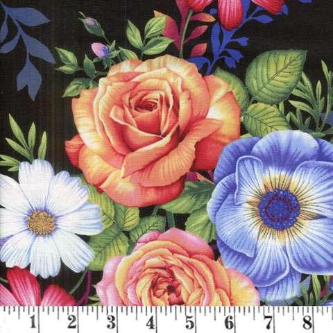 AE546 Botanical Blooms - Main Floral