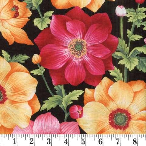 AE547 Botanical Blooms - Anemones