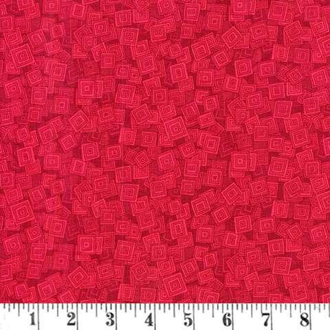 AE583 Hopscotch - Strawberry Overlap