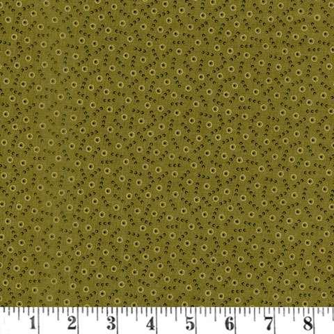 AE590 New Hope - Tossed Dot - Pine Green