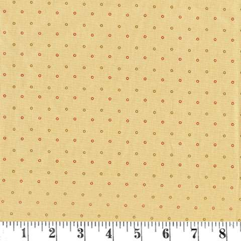 AE592 New Hope - Spaced Dots - Cream
