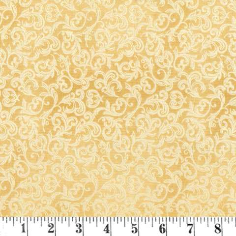 AE593 Pearl Essence Scroll - Gold
