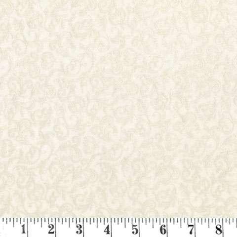 AE596 Pearl Essence Scroll - Cream