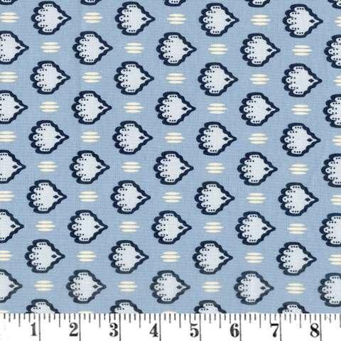 AE633 Bathwick - Blue Wallpaper