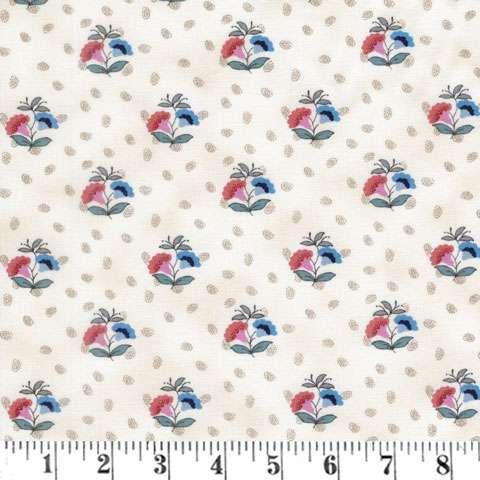 AE638 Bathwick - Cream Small Floral