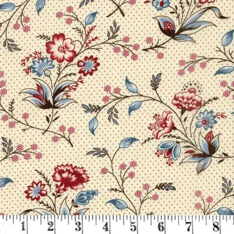 AE639 Bathwick - Cream Big Floral