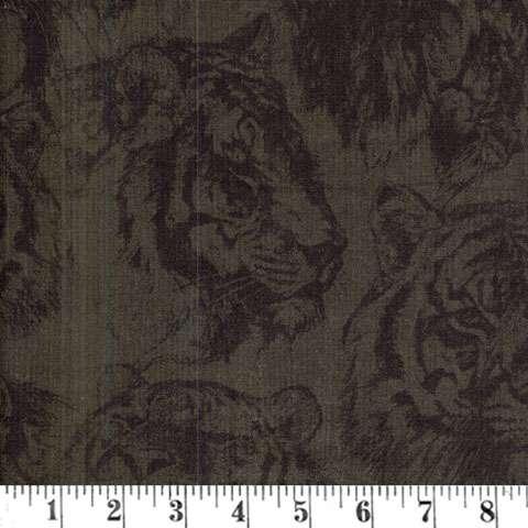 AE658 Tiger Kingdom - Embossed Image