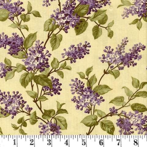 AE674 Lilac Ridge - Lilac Bush - Cream