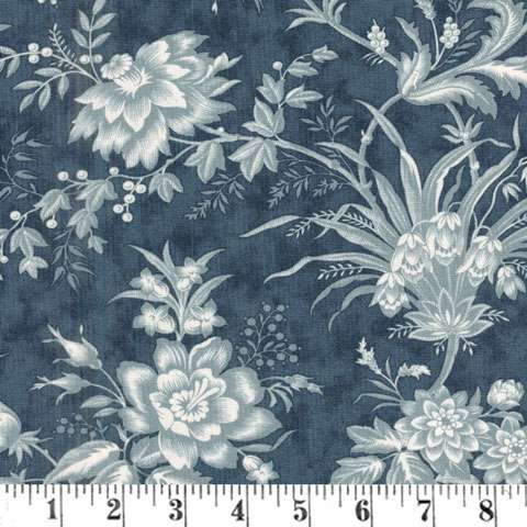 AE686 Snowberry Prints - Floral Toile - Midnight