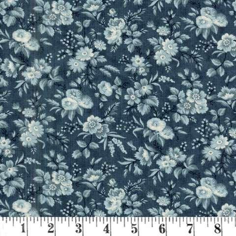 AE687 Snowberry Prints - Delicate Sprays - Midnight