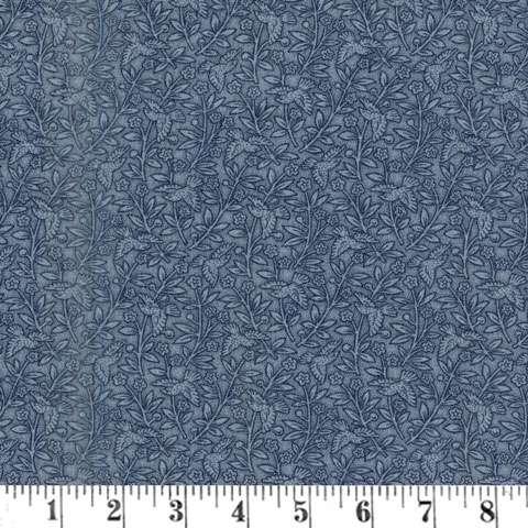 AE689 Snowberry Prints - Aviary - Midnight