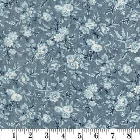 AE691 Snowberry Prints - Delicate Sprays - Sky