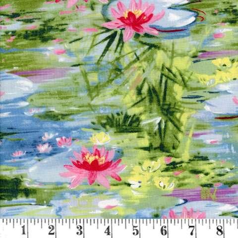AE713 Impressionist Garden