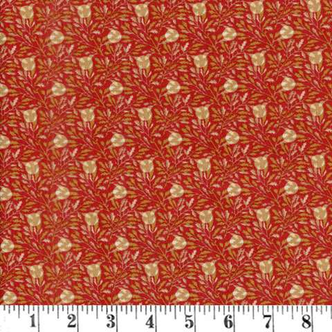 AE714 Larisa - Ruby Leaf Dot