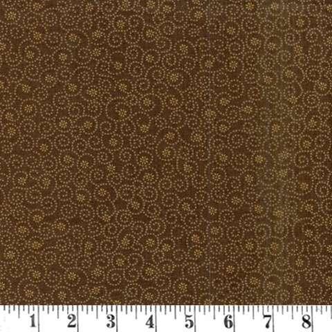 AE735 Cinnamon Toast III - Brown Flowers