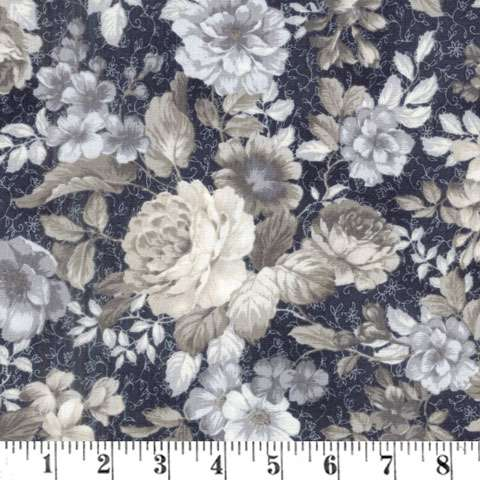 AE866 Mayfield - Floral Pewter