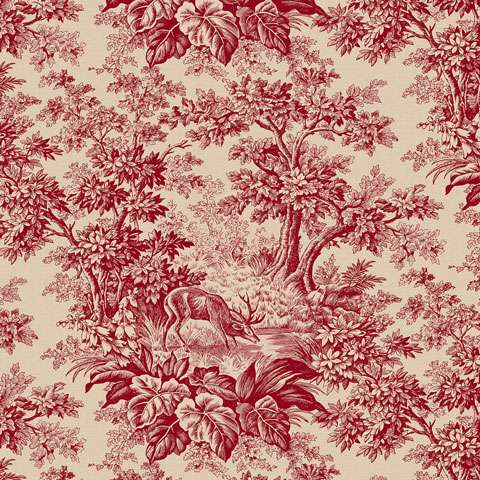 AE983 Falls Majesty - Red Toile preview