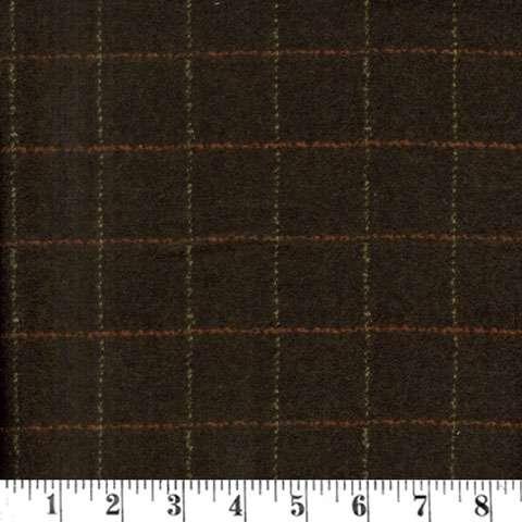 AE997 Woolie Flannels - Plaid Dark Brown preview