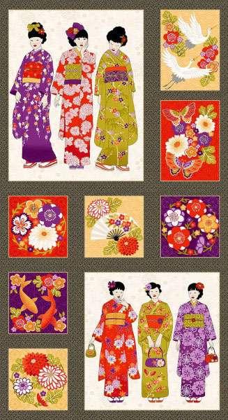 AF001 Kimono - Panel preview