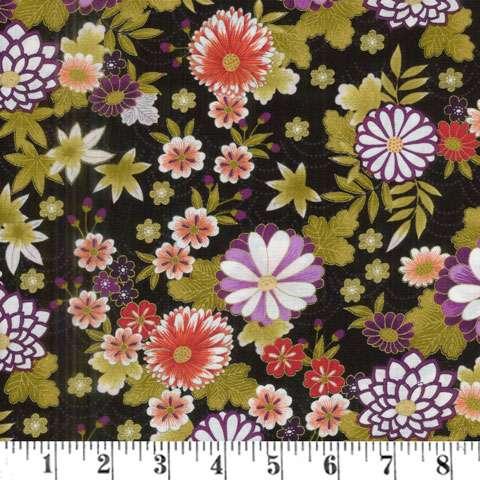 AF003 Kimono - Chrysanthemum