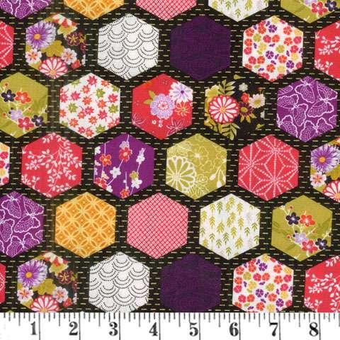 AF004 Kimono - Hexagon