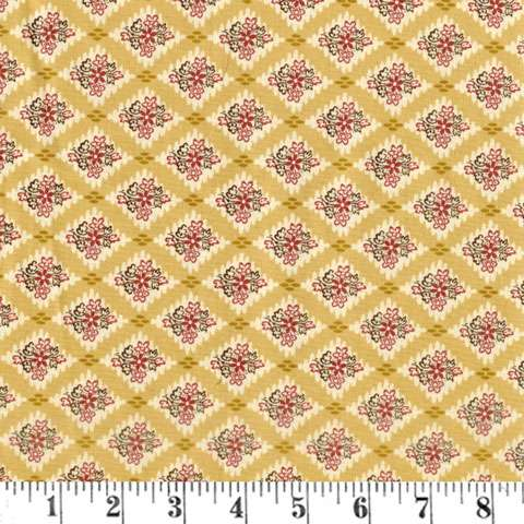AF011 Windermere - Mustard Triangles 108