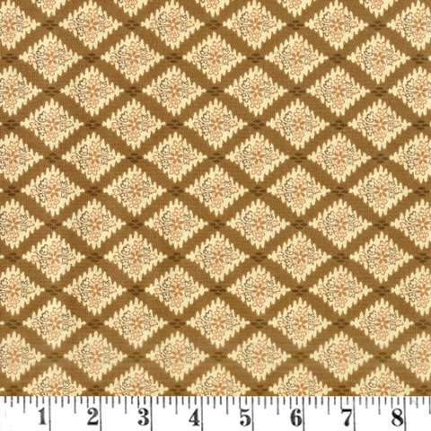 AF014 Windermere - Mustard Triangles 105