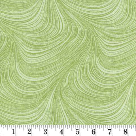 AF022 Extra Wide Backing - Wave - Green
