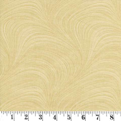 AF026 Extra Wide Backing - Wave - Bisque