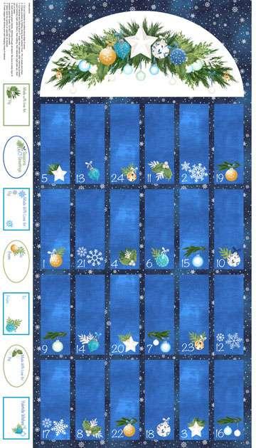 AF090 O' Christmas Tree - Advent Calendar Panel preview