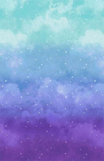 AF092 Joy to the World - Purple to Light Blue Ombre preview