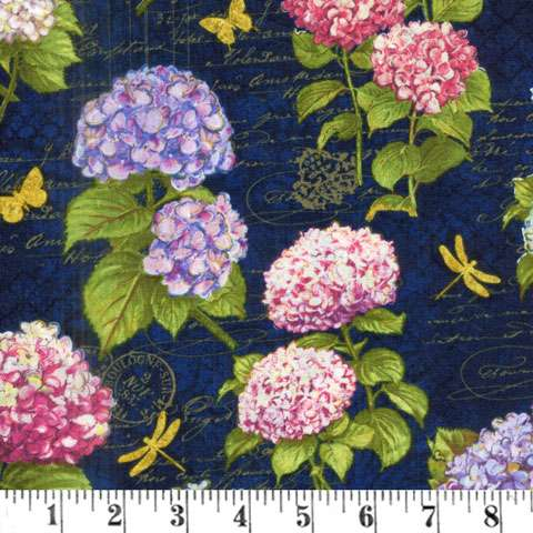 AF117 Hydrangea Dreams - Allover Flowers preview