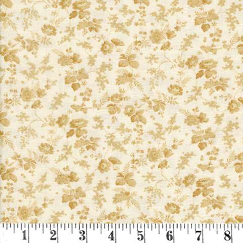 AF176 Bricolage - ivory trailing flowers preview