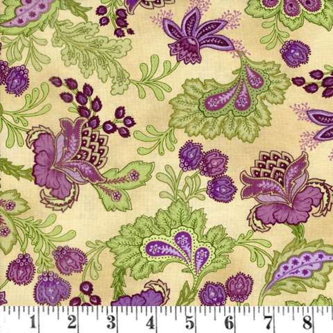 AF231 Aubergine - Antique Paisley preview