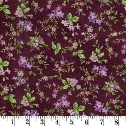 AF235 Aubergine - Dark Aubergine Trailing Flower preview